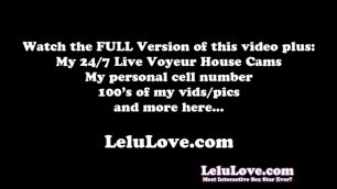 Lelu Love-POV BJ Foot Fetish Facial