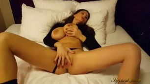 Jane teases on the Bed